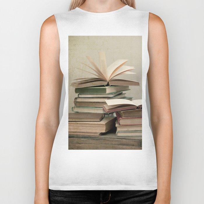 Bibliophile  Biker Tank