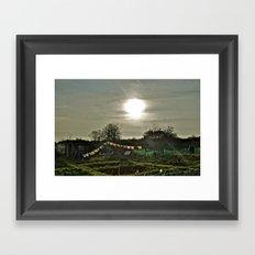 Spiritual Allotment Framed Art Print