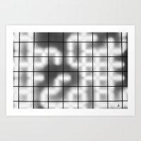 numbers Art Prints featuring Numbers by Sofia_Katsikadi