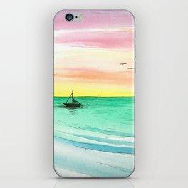 Rainbow Sunrise iPhone Skin