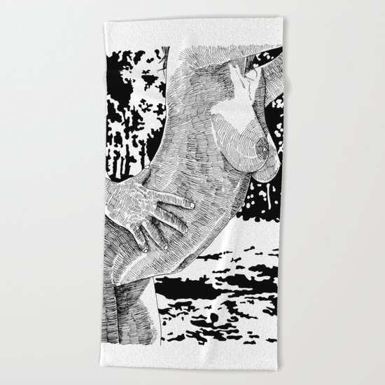 Let's Dance Beach Towel