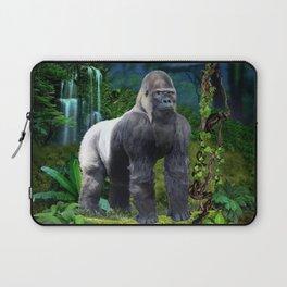 Silverback Gorilla Guardian of the Rainforest Laptop Sleeve