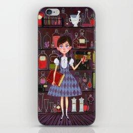 Flavia de Luce iPhone Skin