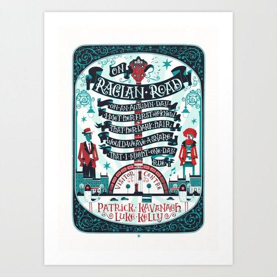On Raglan Road Art Print