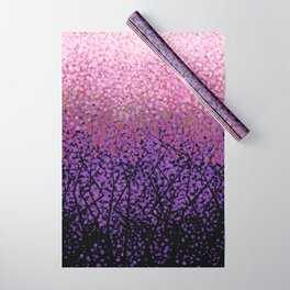 Plum Blossom Tree Grove Wrapping Paper