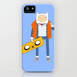 Marty McFinn & Jake the Hoverboard iPhone Case