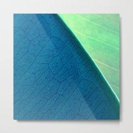Contemporary Leaf Design, Version #1 Metal Print