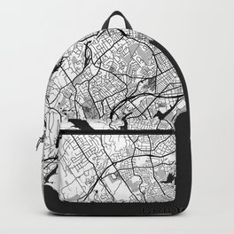 Bridgeport Map Gray Backpack