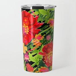 Floral Frida Travel Mug