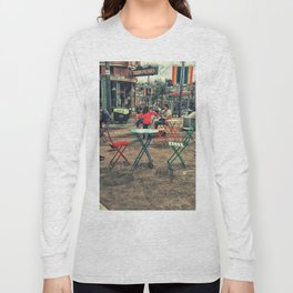 Colorful street Long Sleeve T-shirt