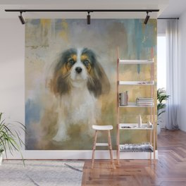 The Attentive Cavalier Wall Mural