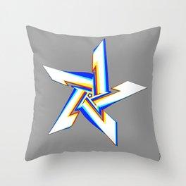 Chromatic Adoration Throw Pillow