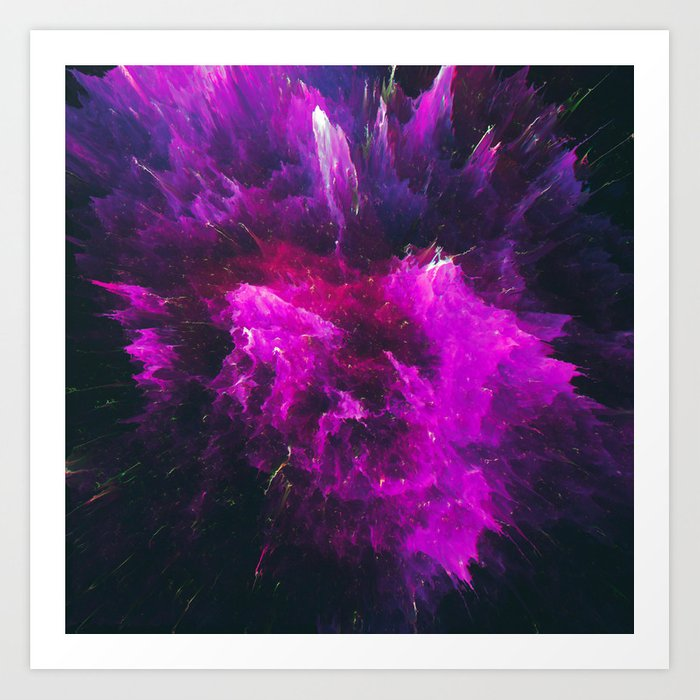 Kleónikos (Abstract 13) Art Print