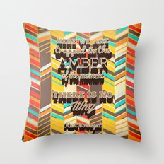 Vonnegut Throw Pillow