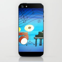 Music Of My Heart iPhone Skin