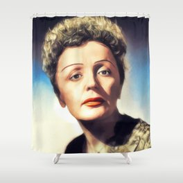 Edith Piaf, Music Legend Shower Curtain