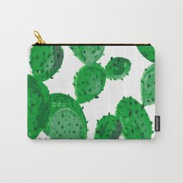Cactus garden green Carry-All Pouch