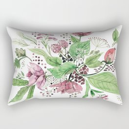 Floral festival Rectangular Pillow