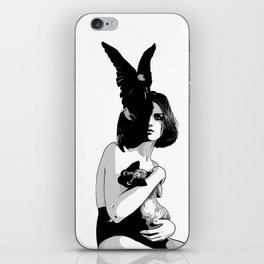 As mysterious as a cat iPhone Skin