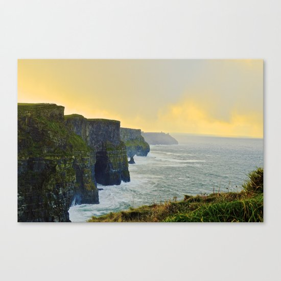 Cliffs of Moher Morning Canvas Print