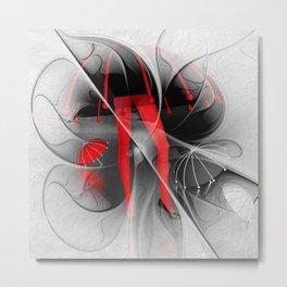 waterworld - fractal design Metal Print