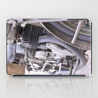 motorbike iPad Cases featuring Old motorbike by Carlo Toffolo