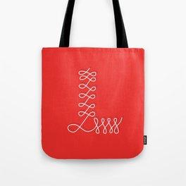Alphabet Drop Caps Series- L Tote Bag