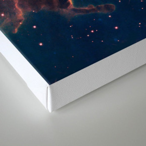 Solar System Near Nebula Canvas Print