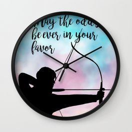 Katniss Everdeen Wall Clock