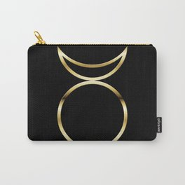 Horned God Symbol Carry-All Pouch