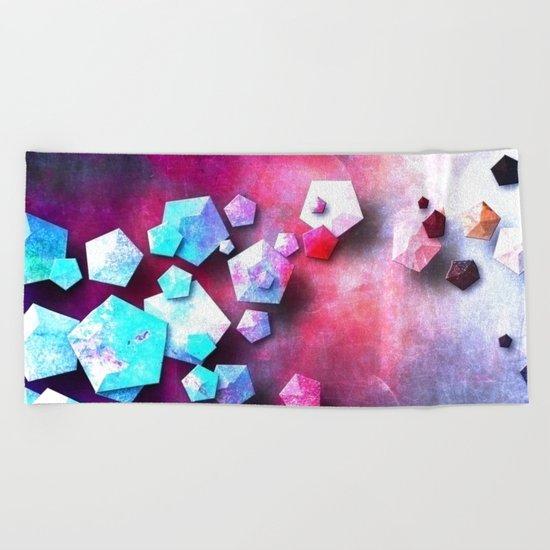β Persei Beach Towel