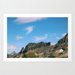 glacier ntl park part 2 Art Print