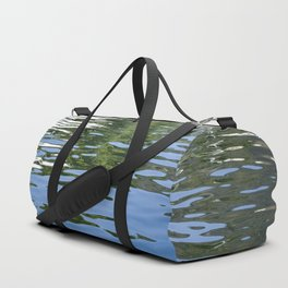 Colorful Reflections Abstract Duffle Bag