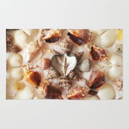 Wing Oyster Heart Rug