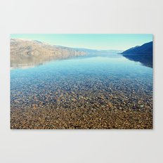 Clear & Calm Canvas Print