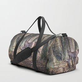 Doe and Fawn Duffle Bag