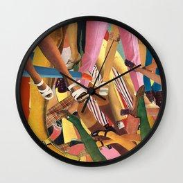 Get a Leg Up Wall Clock
