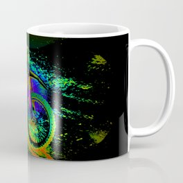 Race to the Finish! - Motocross Racer Coffee Mug