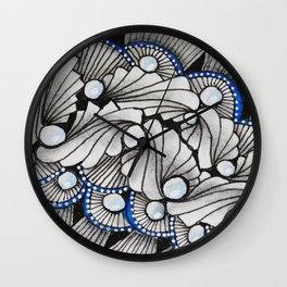 Stage Lites Wall Clock