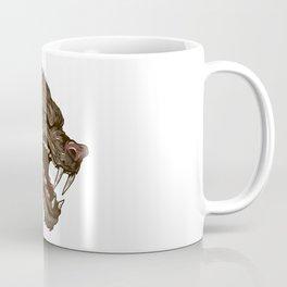 Head with fangs Coffee Mug