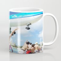 airplane Mugs featuring Airplane! by Noah Bolanowski