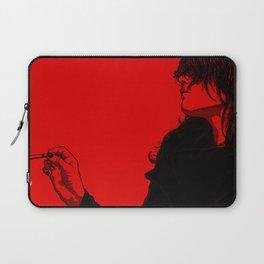 Smoking (Black on Red Variant) Laptop Sleeve