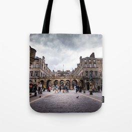 Royal Mile in Edinburgh, Scotland Tote Bag