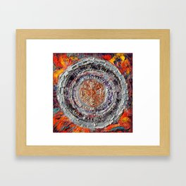 """""""The temple of the dragon"""" Framed Art Print"""