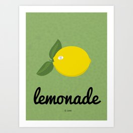 G. Love - Lemonade Art Print