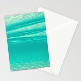 Tropical Water Stationery Cards