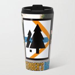 December's Back New Logo Travel Mug