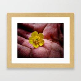 Pickin' Wild Flowers Framed Art Print