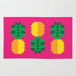 Fruit: Pineapple Rug