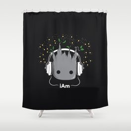 i Am Shower Curtain